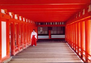 Itsukashima Shrine in Hiroshima